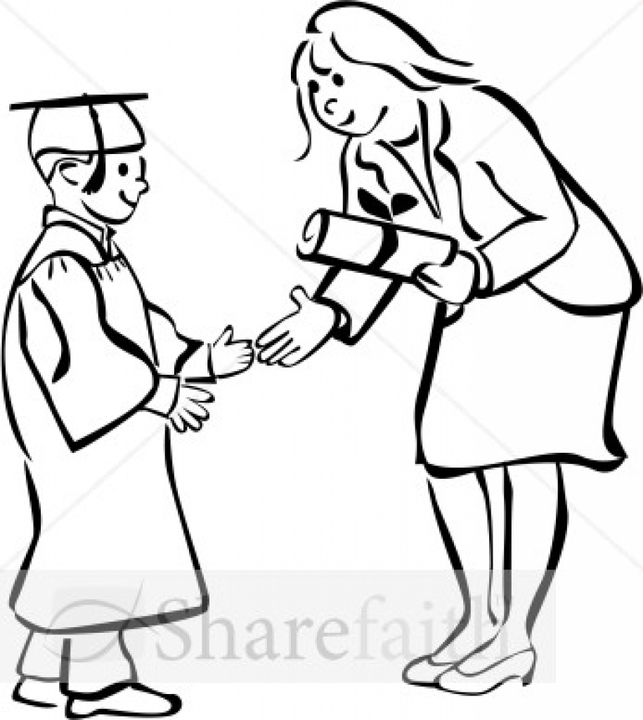 graduation party clip art black and white clipart panda free.