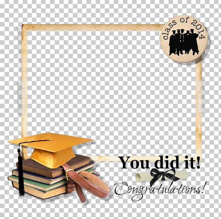 Digital Scrapbooking Graduation Ceremony PNG, Clipart, Angle, Border.