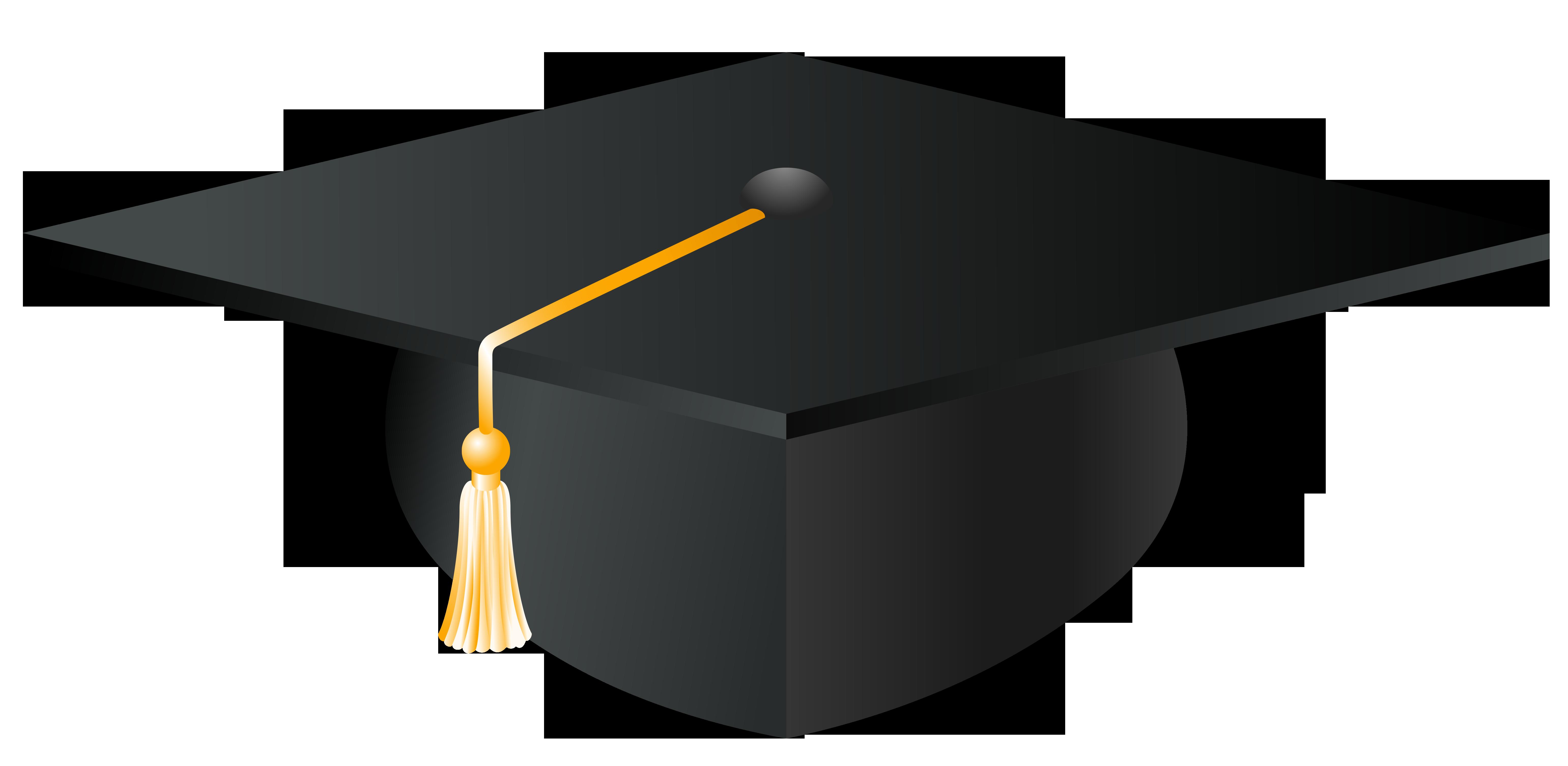 Graduation Cap Clipart Letter M.