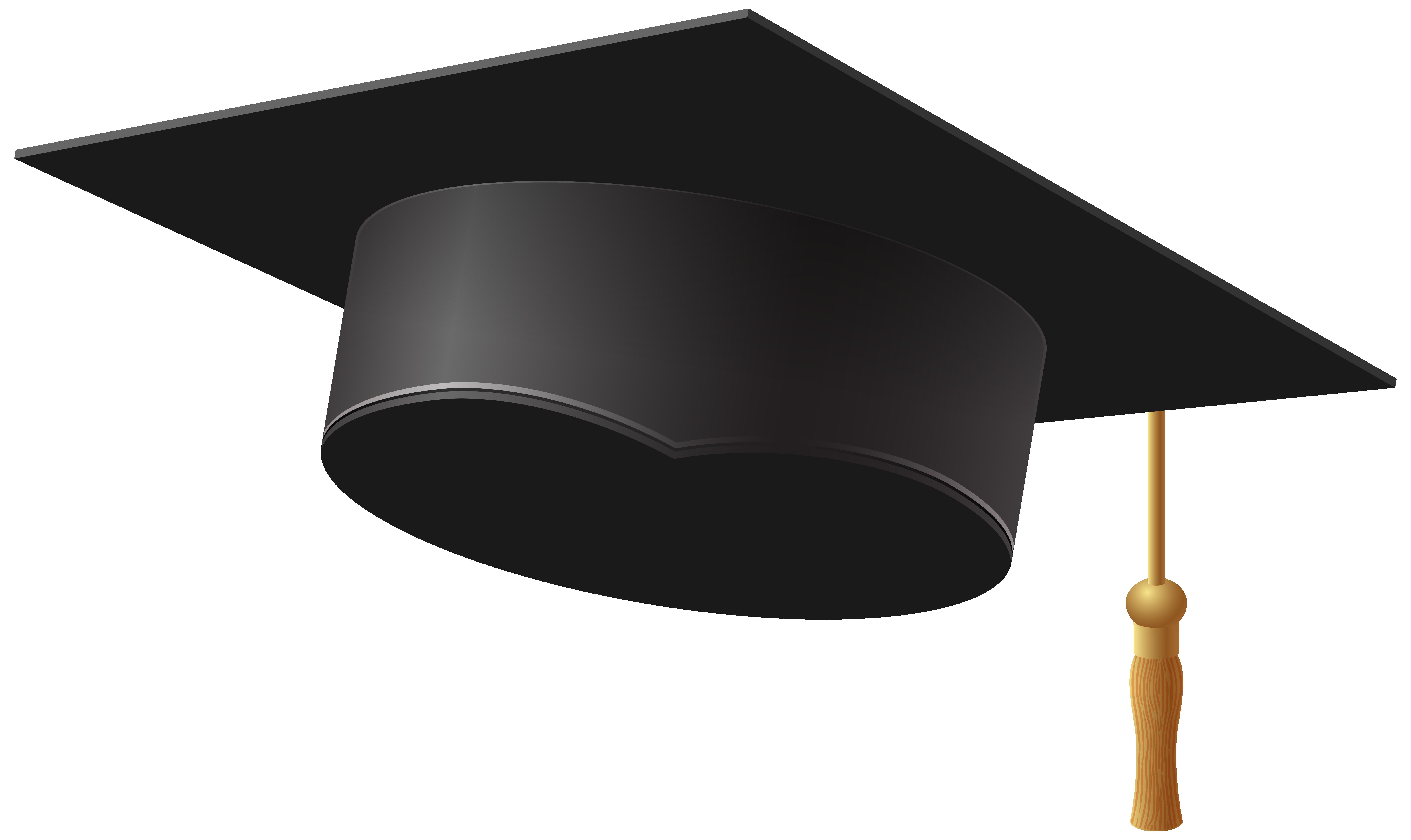 1504 Graduation Cap free clipart.