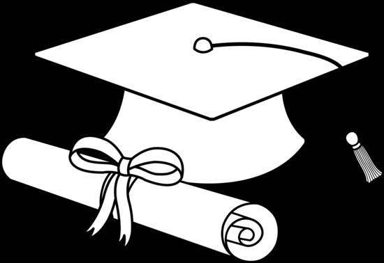 Free Graduation Cap Outline, Download Free Clip Art, Free.