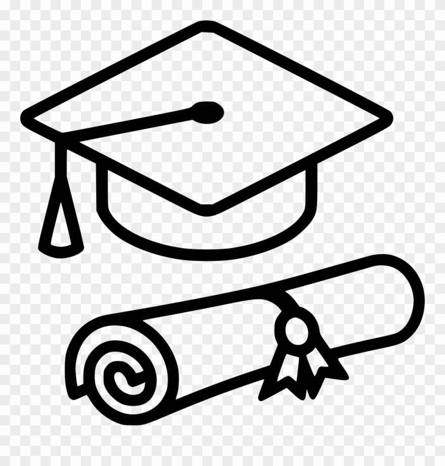 Graduation Cap Svg Png Icon Free Download.