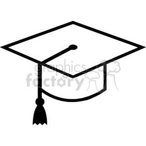 Royalty Free Mortarboard Graduation Cap clipart. Royalty.