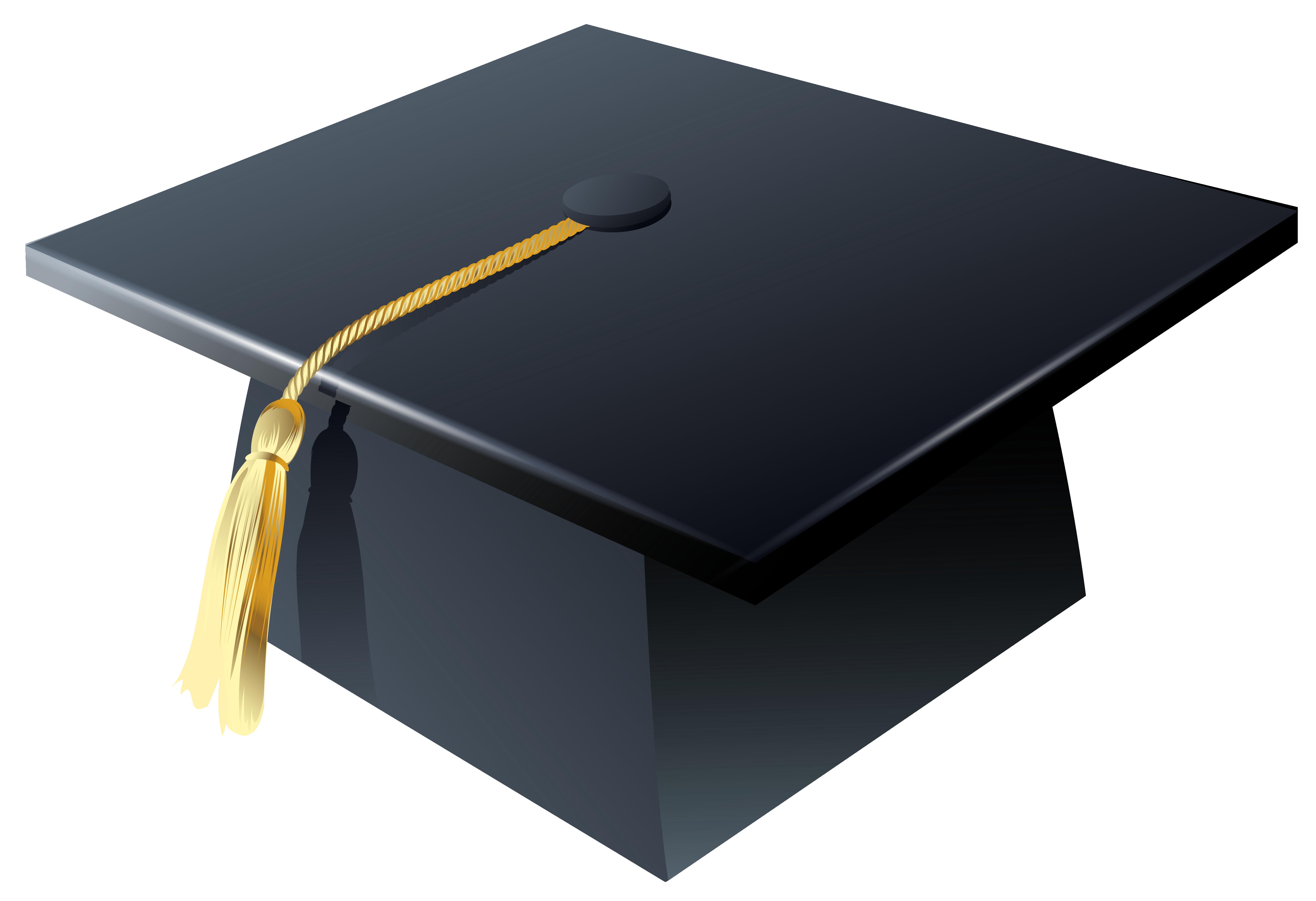 Graduation Cap PNG Clipart.