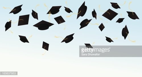 Graduation Celebration Clipart Image.