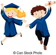 Graduation ceremony Clipart and Stock Illustrations. 10,390.