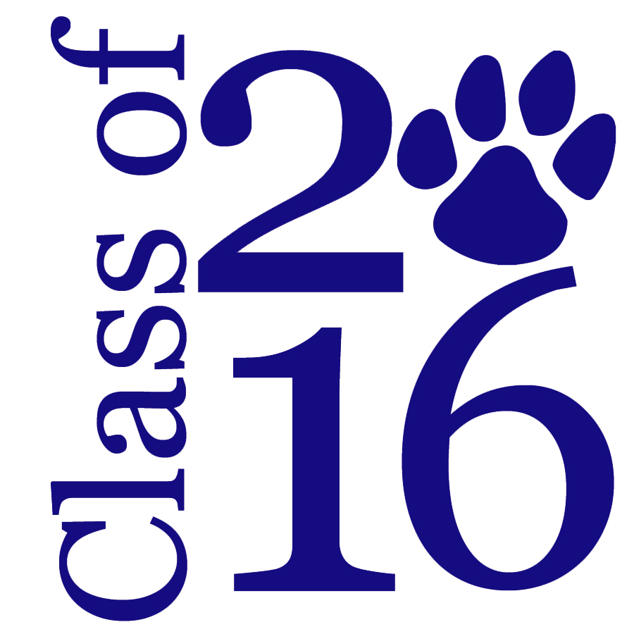 High School 2016 Clipart.