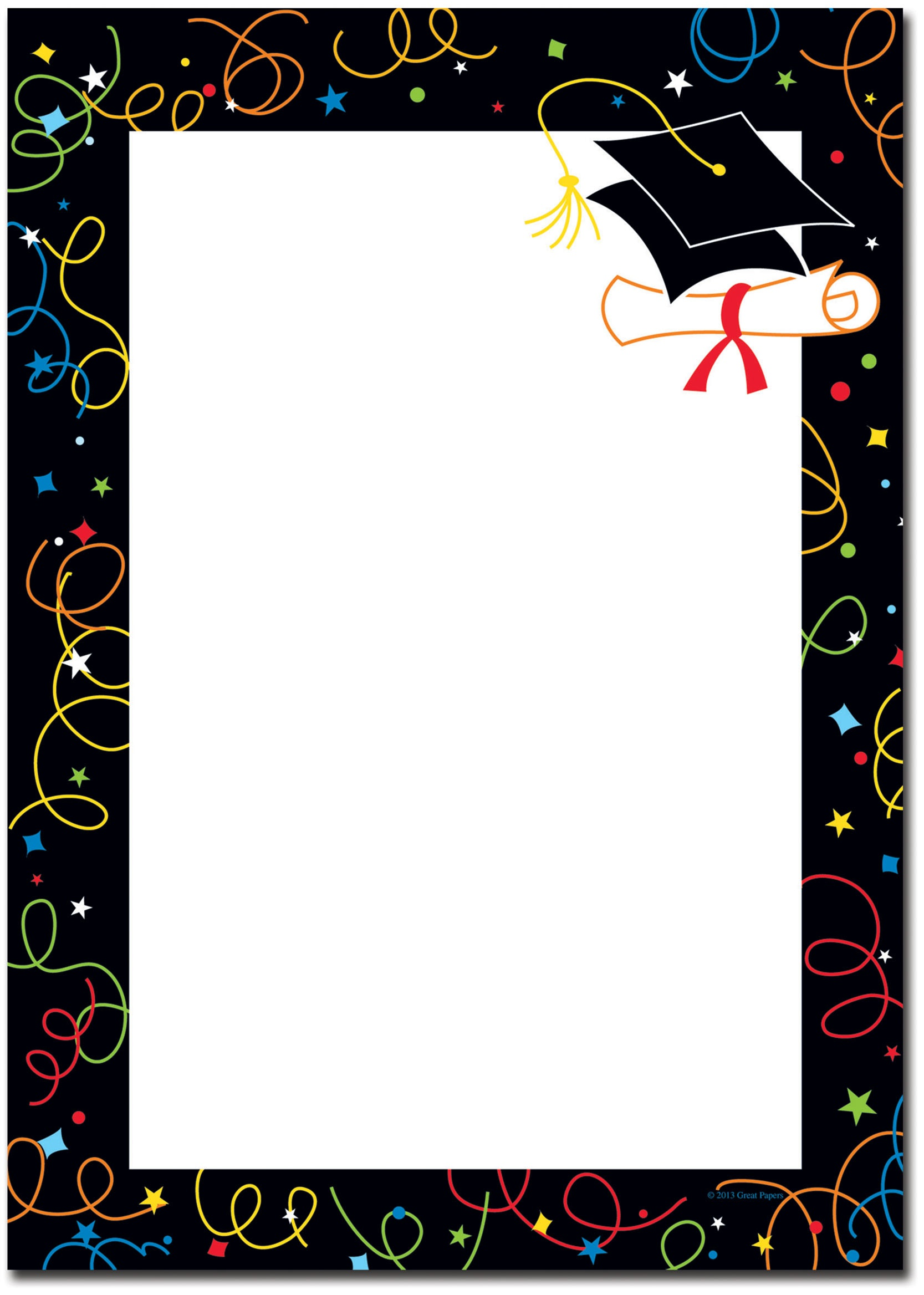 Collection Of Free Graduating Clipart Border. Download On Ui Ex.