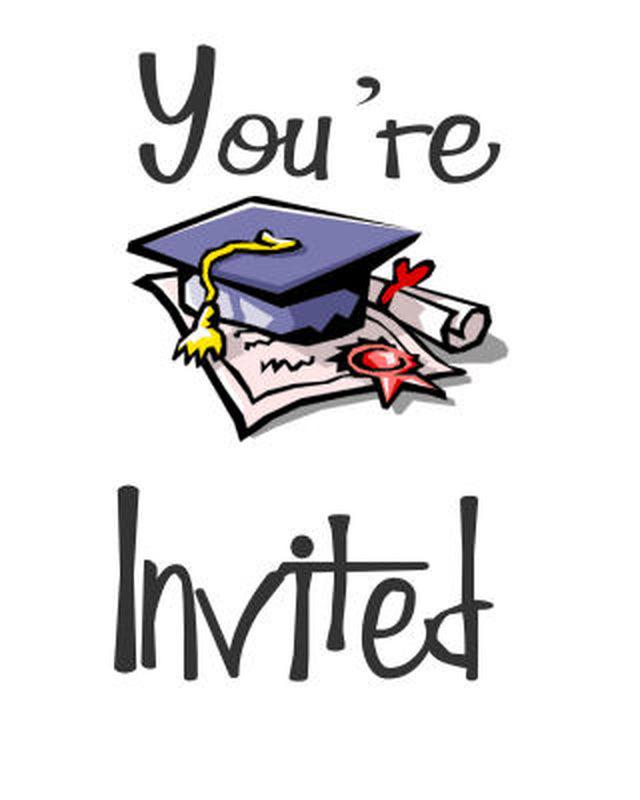 Free Printable Graduation Clip Art free image.