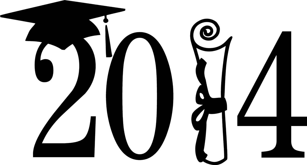 Congratulations Graduation 2014 Clipart.