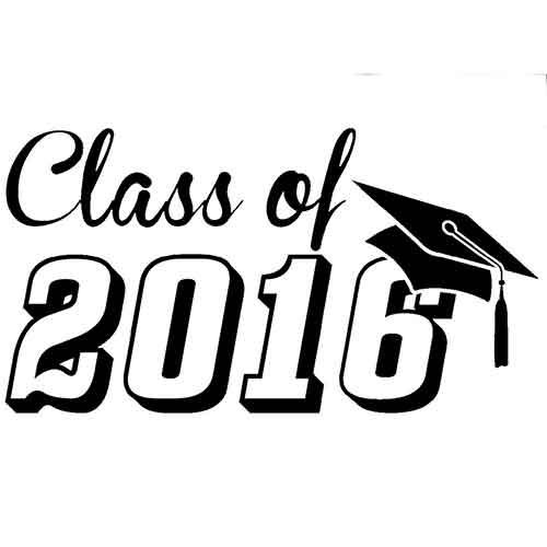 Graduation Clipart 2016.