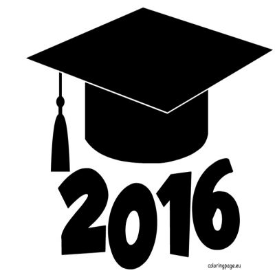 High School Graduation Clipart 2016.