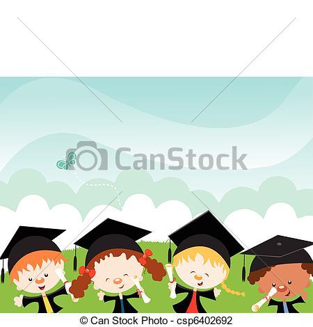 Background graduation clipart » Clipart Station.