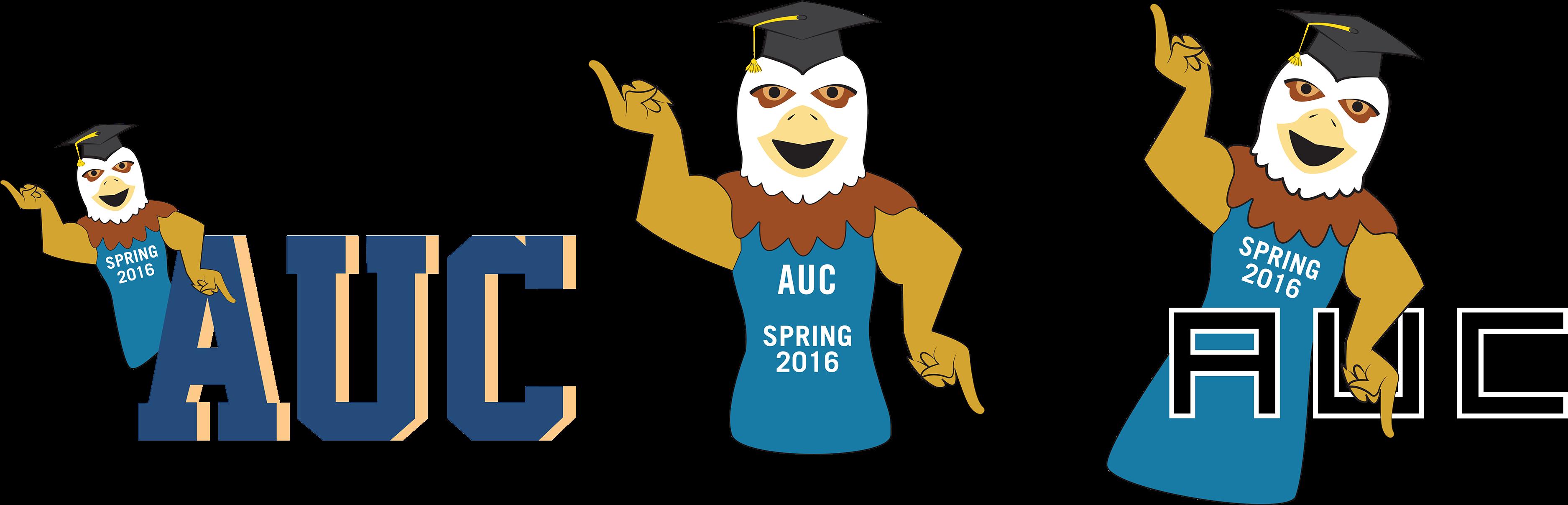 Auc 2016 Graduation Snapchat Filters.