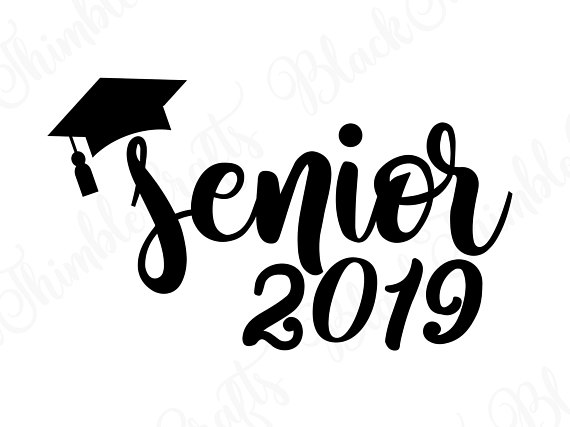 Senior svg, senior 2019 svg, graduation svg, college.