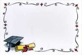 Graduation Frame Clipart.