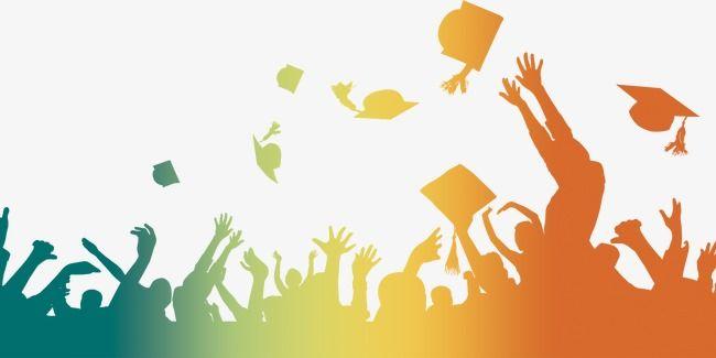 Senior Year, Graduation Carnival, Graduation Figures PNG.