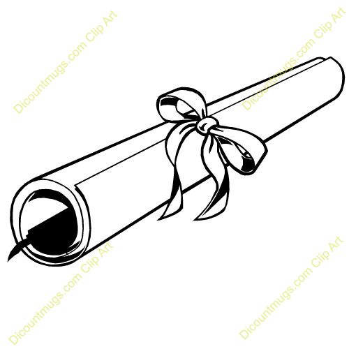 Best Diploma Clipart #16133.