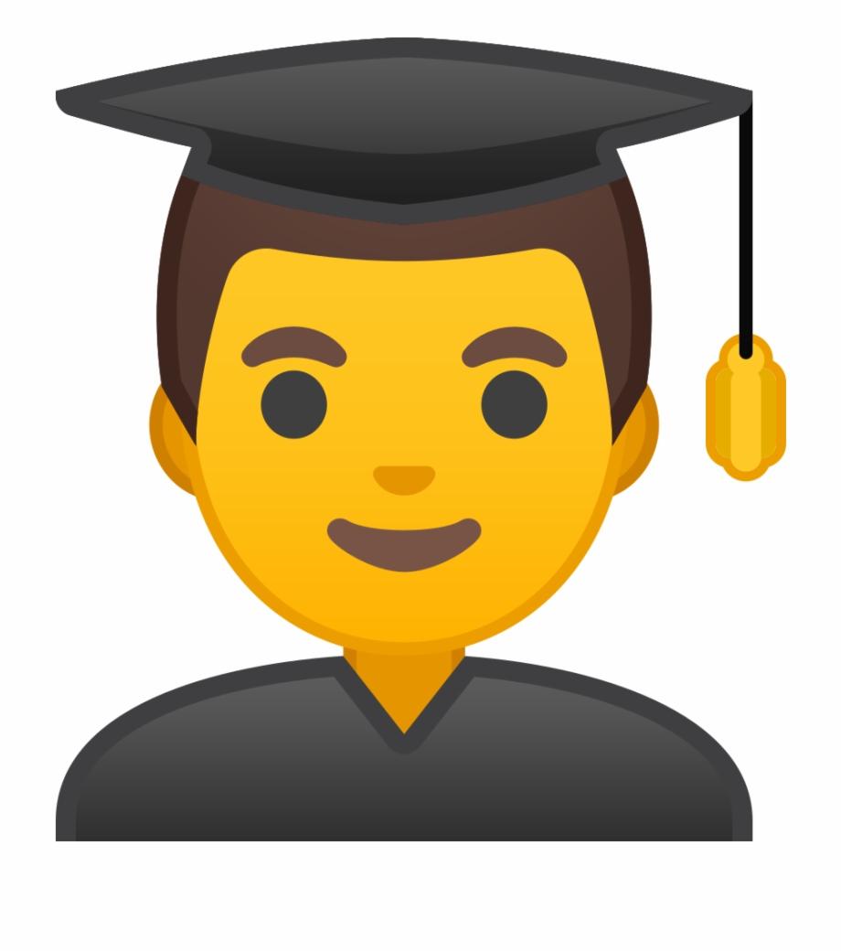 Emoji Graduation Png Student Ico.