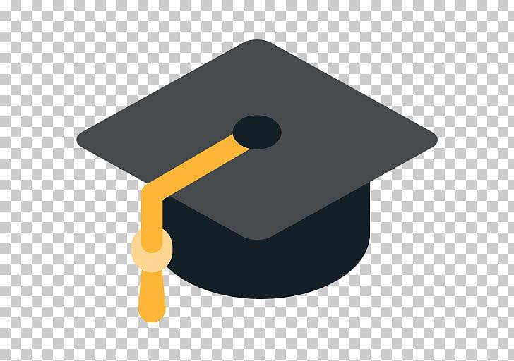 Emoji Graduation ceremony College Square academic cap.