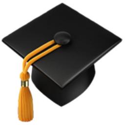 Graduation Cap Emoji (U+1F393).