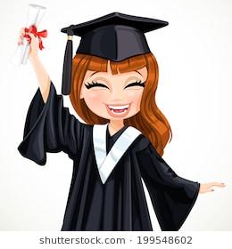 Graduation girl clipart 5 » Clipart Station.