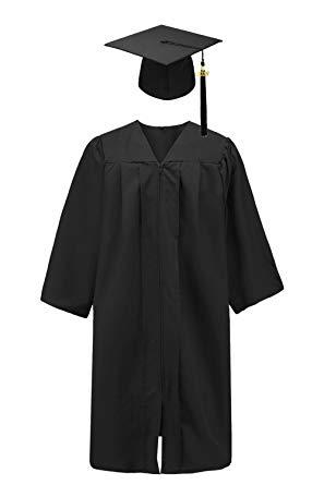 Graduation gown clipart 4 » Clipart Station.