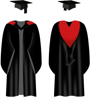 Graduation gowns : Getting ready : Graduation : University of Sussex.