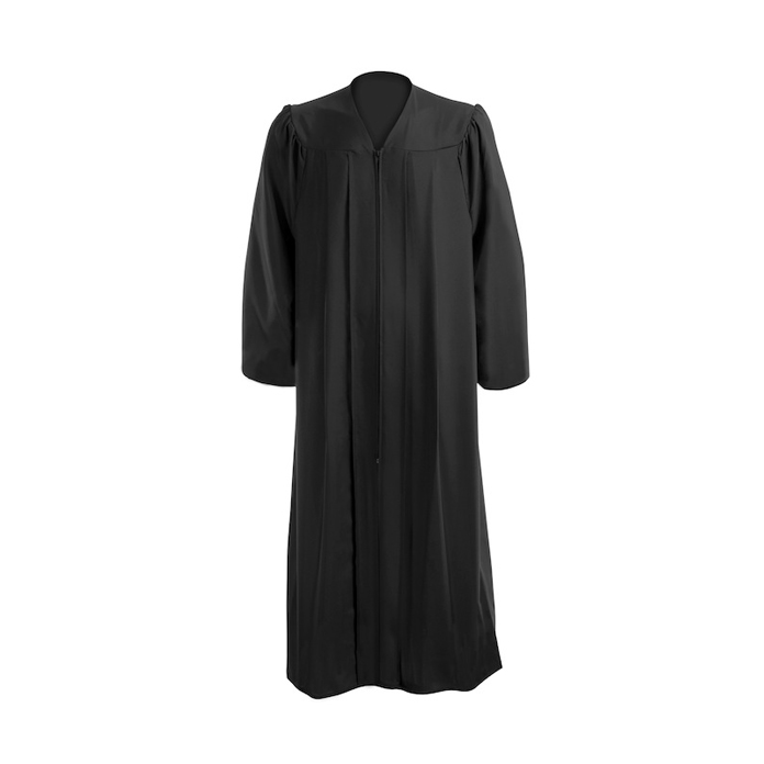 Download Free png Black Graduation Gown.