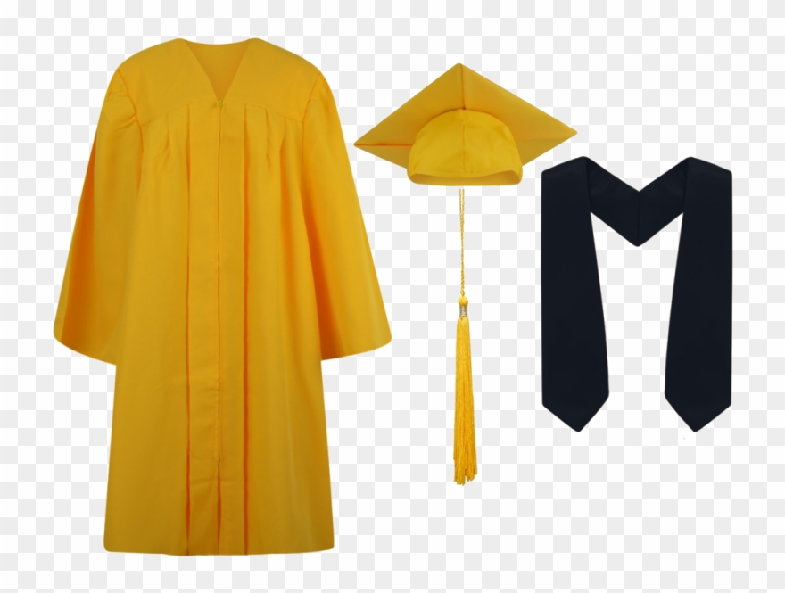 Graduation Gown Png.