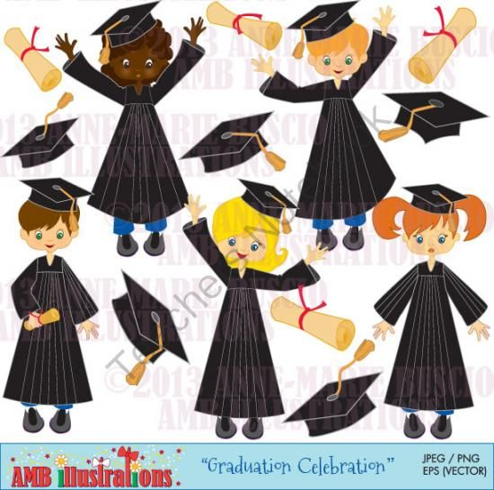 25 best images about Graduation Cap Clipart on Pinterest.