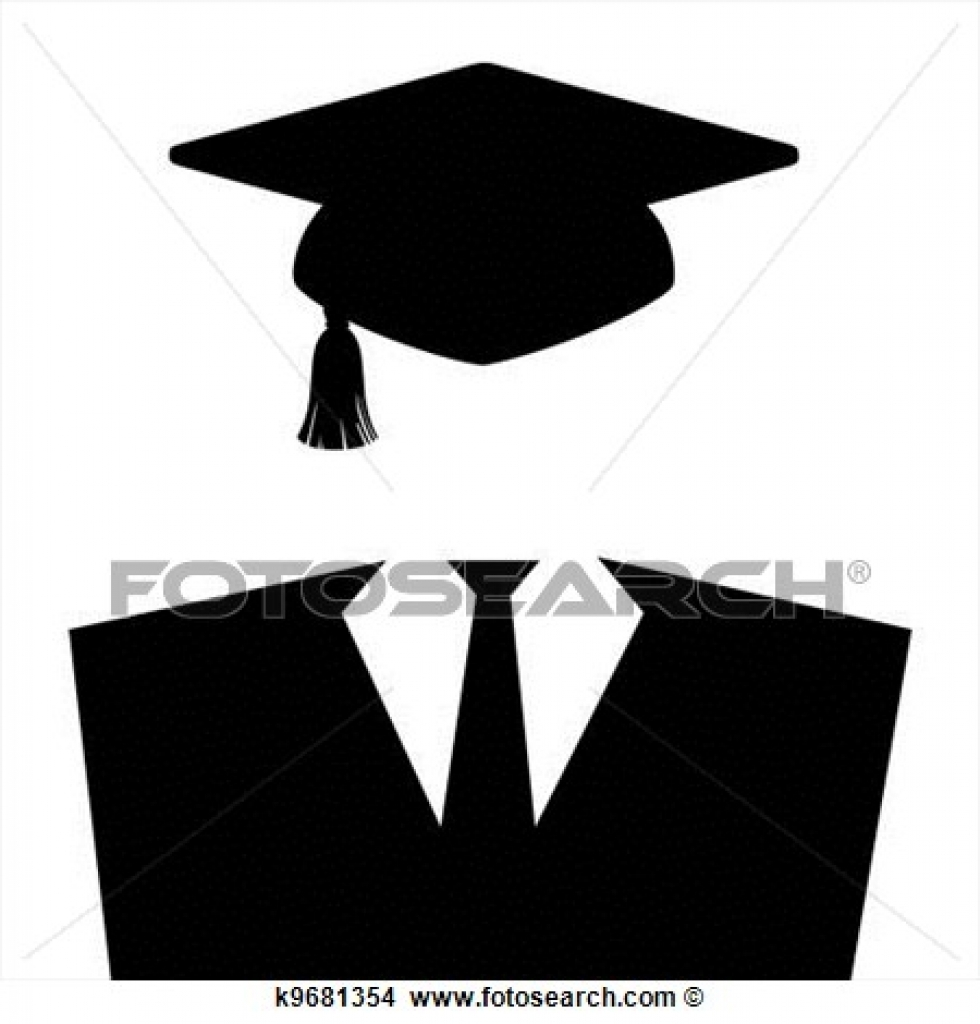 cap gown clipart and stock illustrations 354 cap gown vector eps.