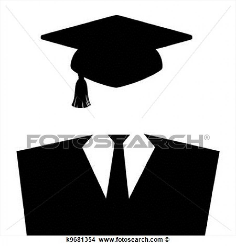 graduation gowns clipart clipground 980 x 1024 · jpeg