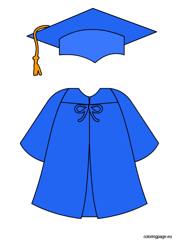 Graduation Coloring Pages.