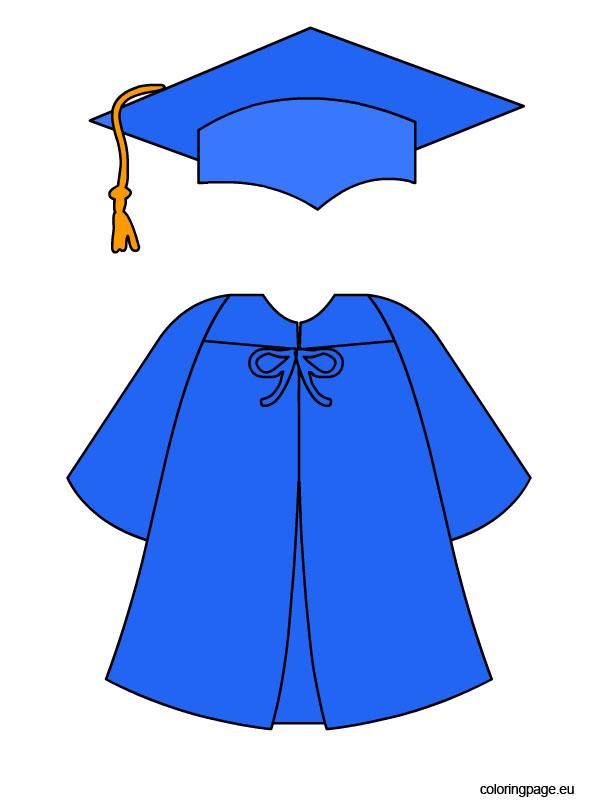 Graduation Coloring Pages.