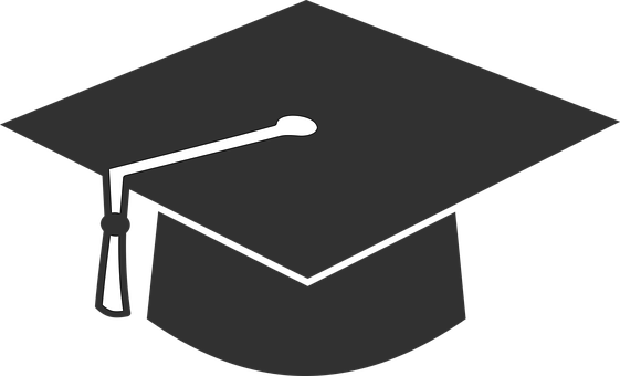 48 Beginning Graduation Hat Vector.