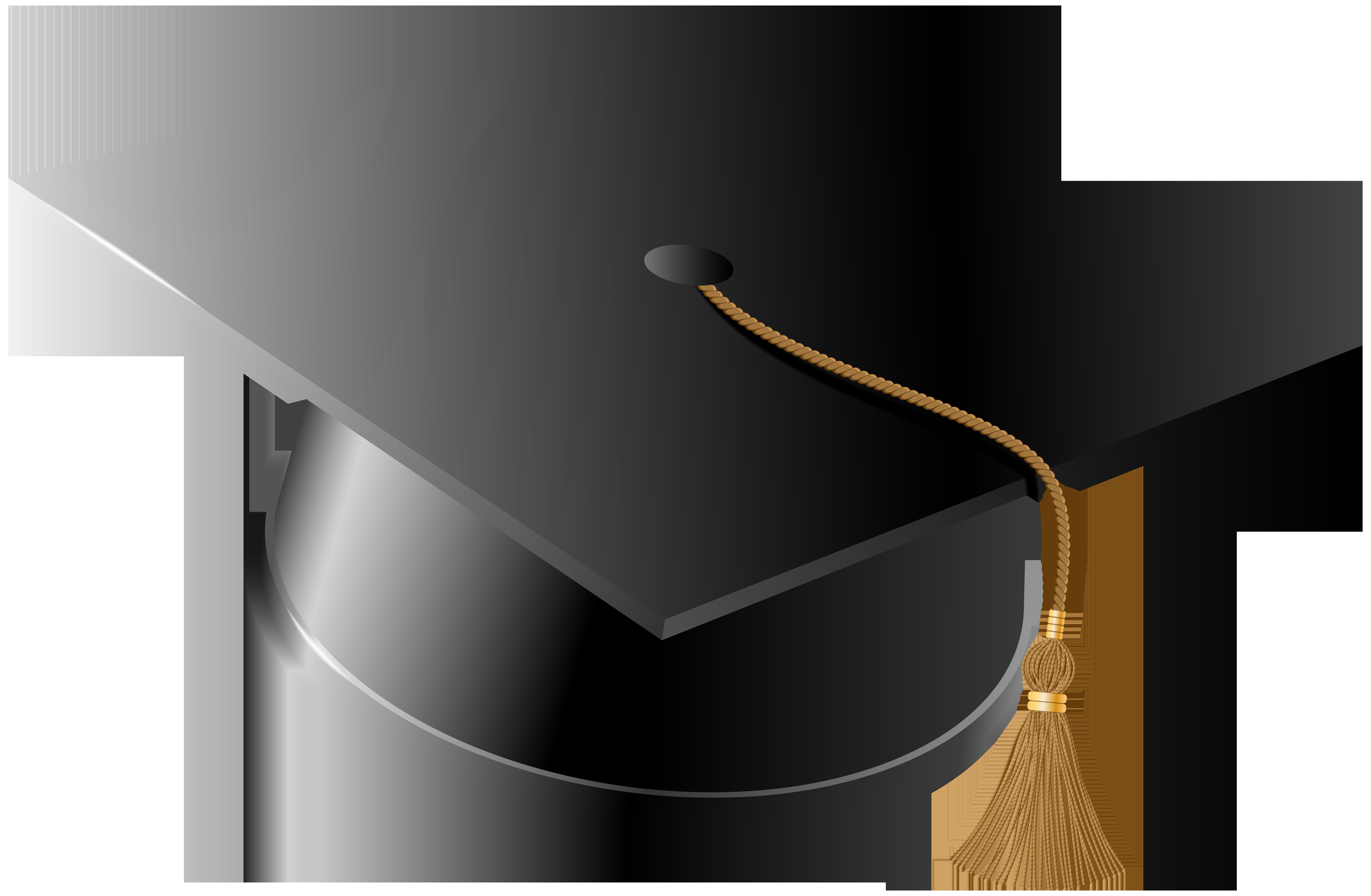 Graduation Hat PNG Clip Art Image.