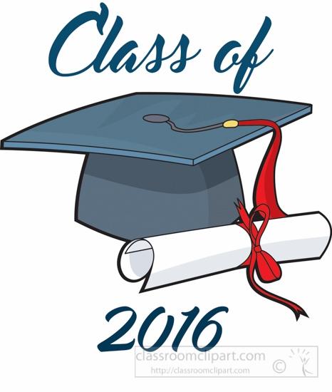 2016 graduation clipart 2 » Clipart Station.