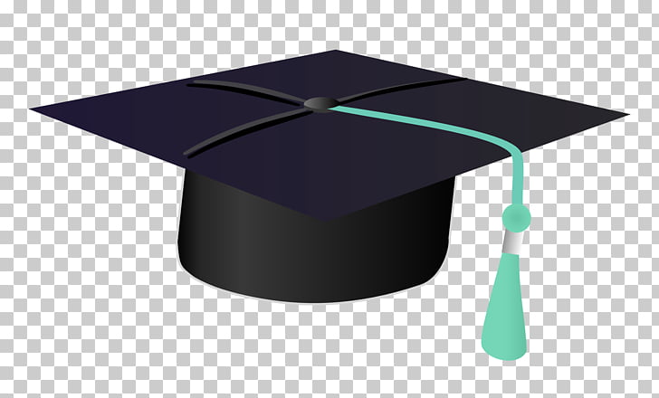 Graduation ceremony Diploma, Graduation Cap, black and green.