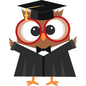 Silhouette Design Store: graduation owl.