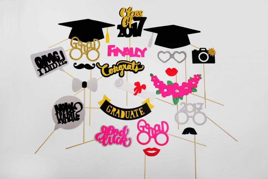 Graduation Photo Booth Props.