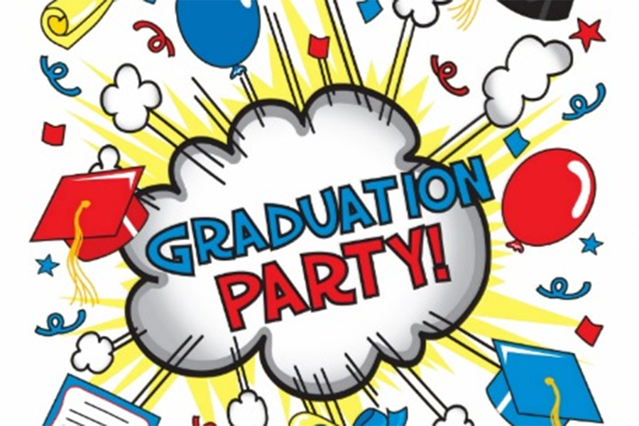 Who\'s looking forward to graduation parties?.