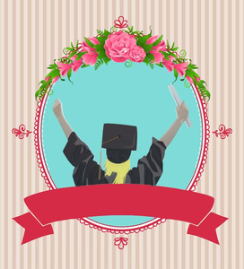 Graduation Party Invitations Clipart.