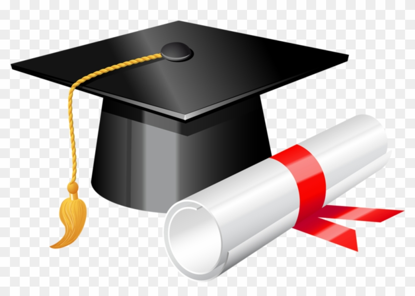 Graduation Cap With Diploma Png Clipart 375 Holly.
