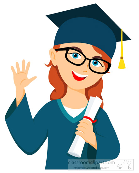 Student holding degree graduation clipart » Clipart Station.