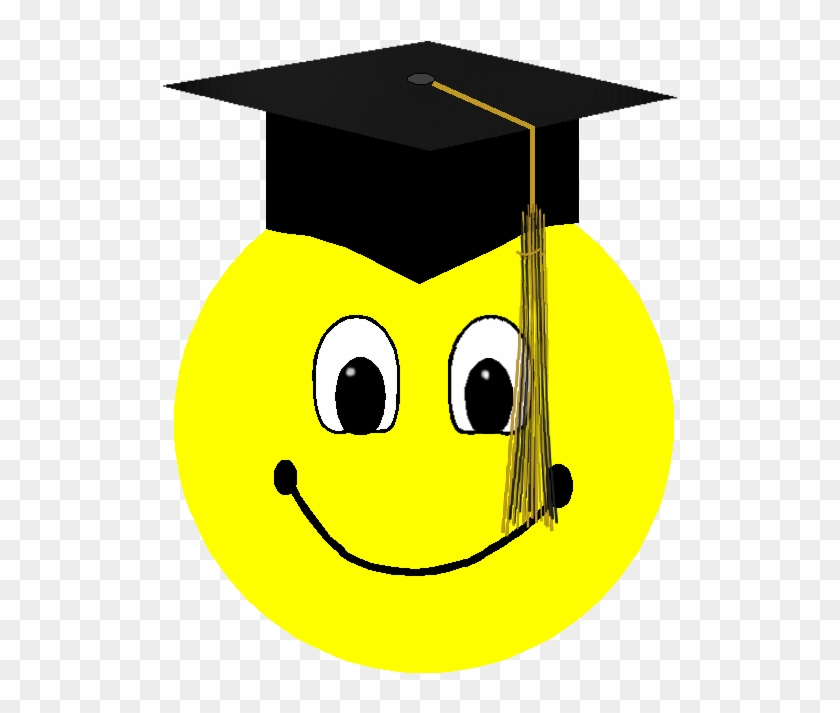 Clip Free Graduation Smiley.