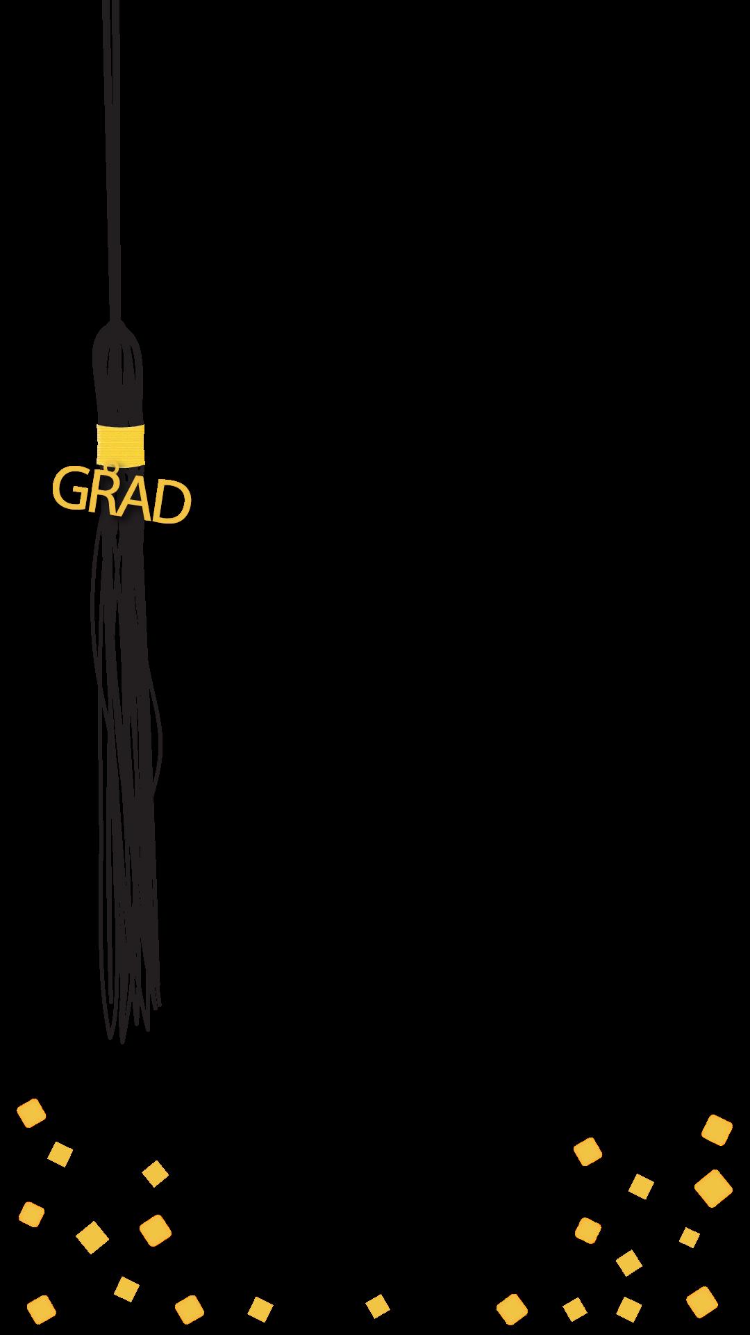 Graduation Tassel Graduation Snapchat Filter.