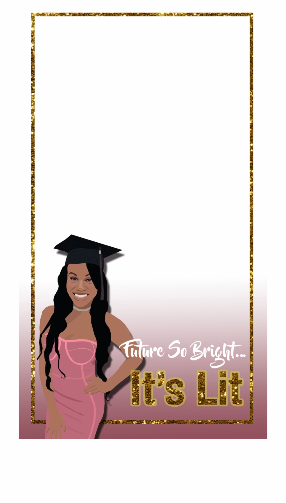 Graduation Party Snapchat Filter.