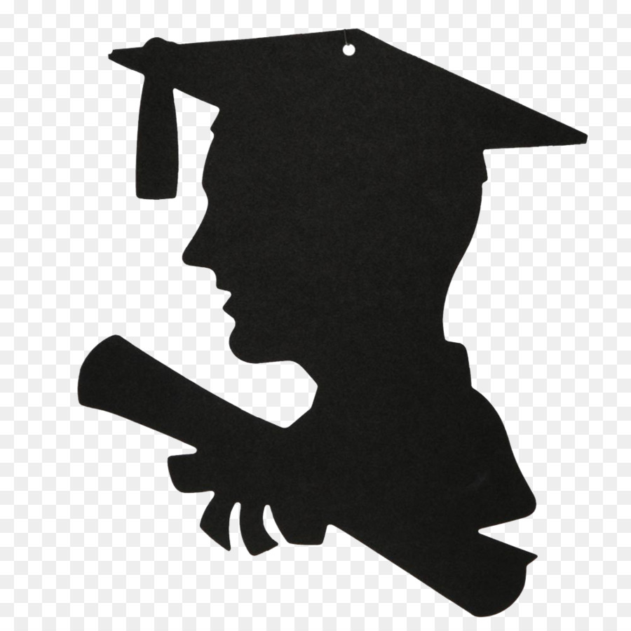 Education Graduation ceremony Silhouette Academic degree.