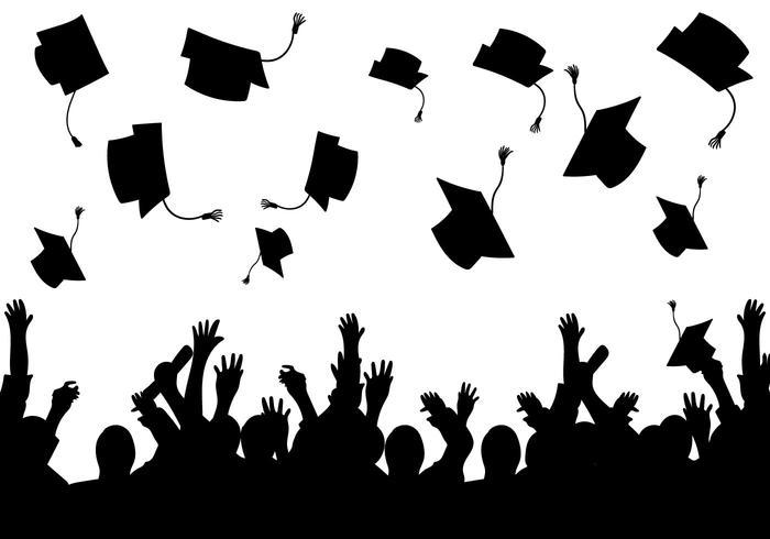 Graduation Free Vector Art.